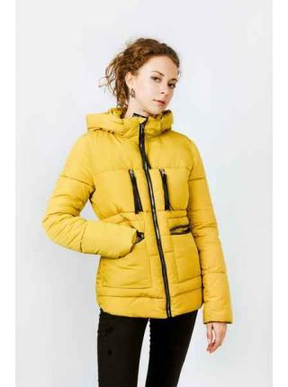 Женская куртка Женевьева (желтый)