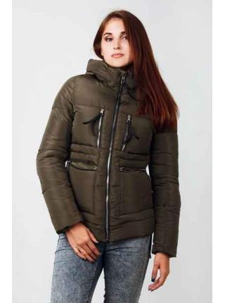 Женская куртка Женевьева (хаки)