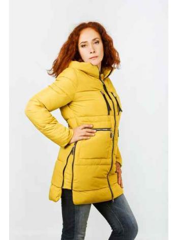 Женская куртка Альберта (желтый)
