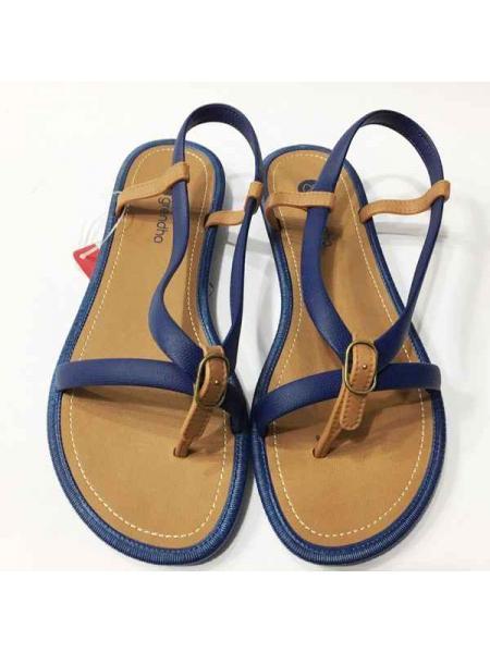 Grendha Navy Sandal Fem синий