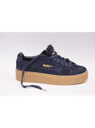 Puma Fenty by Rihana creeper dark blue