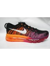 Nike Flyknit Air Max orange/black/pink