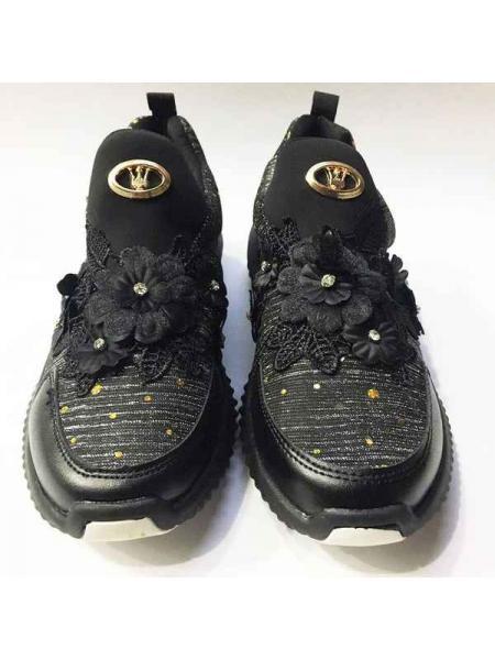 Кроссовки Queen (черный)