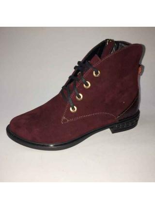Замшевые ботинки Marico