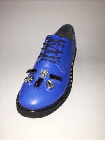 Дерби Oxford синий