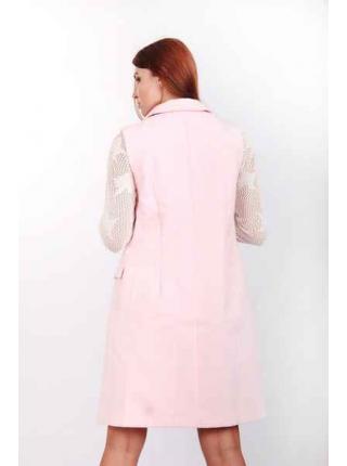 Кардиган из кашемира Анаис (розовый)