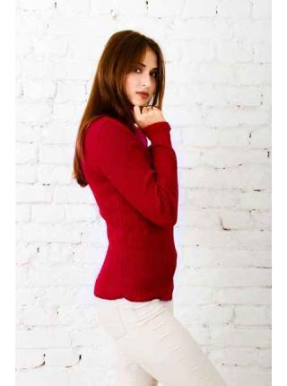 Susan (red) turtleneck