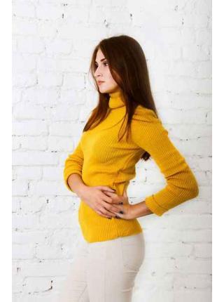 Susan (Mustard) turtleneck