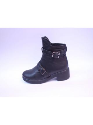 Cherly leather half-boots