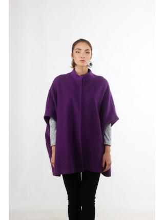 Janna (purple) poncho - coat