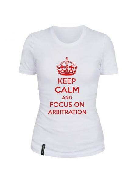 Футболка Keep calm Arbitration