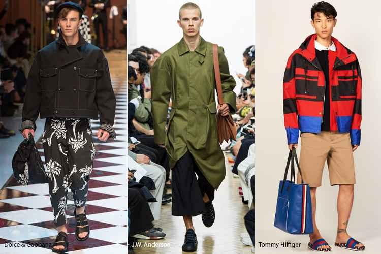 Стиль оверсайз в мужской одежде