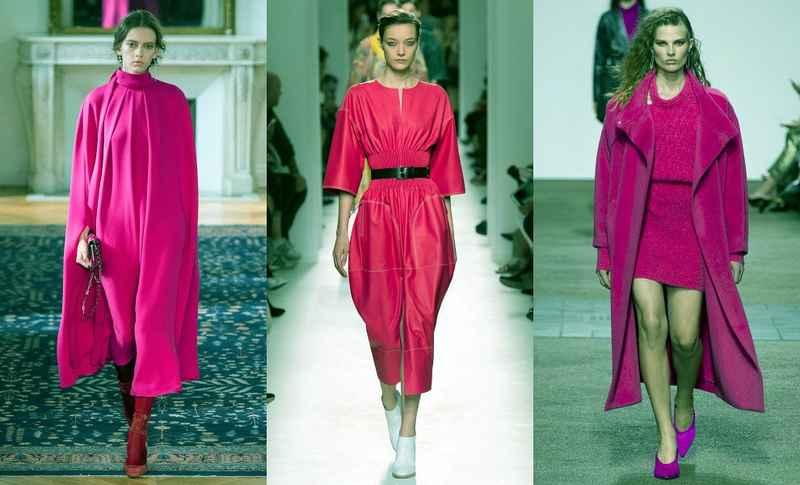 Розовые модели одежды 2017