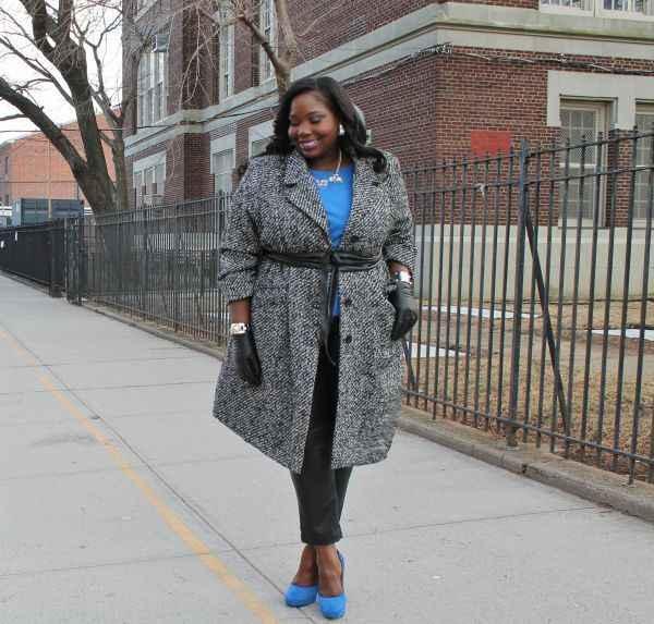 женские пальто большого размера весна
