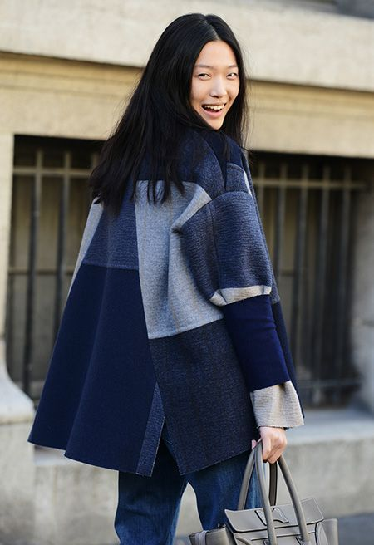 женское укороченное пальто фото