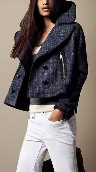 короткое женское пальто фото