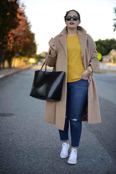 демисезонные женские пальто для полных